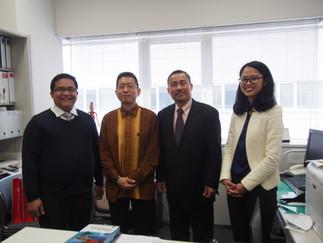 インドネシア共和国外務省の政策分析局部長が加藤研究室を訪問されました