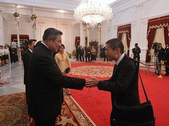 加藤教授 インドネシア共和国「Presidential Friends of Indonesia」日本代表に選出