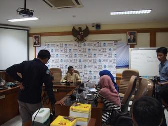 加藤教授がジャカルダでメディア取材を受けました。