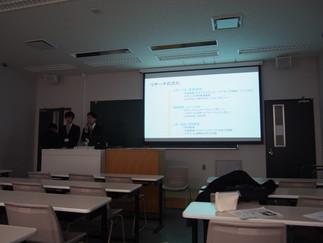小貫と鈴木がリサーチフェスタで最優秀賞を獲得しました。