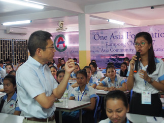 """加藤久典教授が""""One Asia Programme""""の講師を務めました"""
