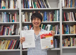 ゼミ生4年小貫寛哲がインドネシア語エッセーコンテストで最優秀賞を受賞