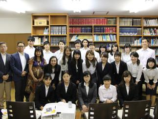 加藤ゼミ 在日本インドネシア大使館訪問