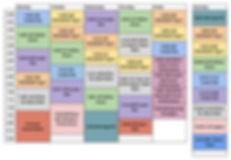 ATA Royersford Class Schedule (updated J