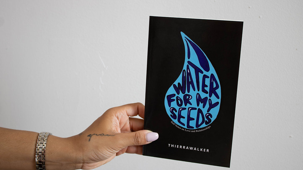 Water For My Seeds Book