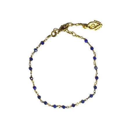 Mani Bracelet ; Lapis Lazuli