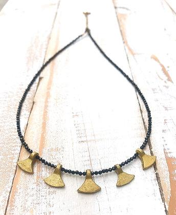 The Ella Black Onyx Necklace
