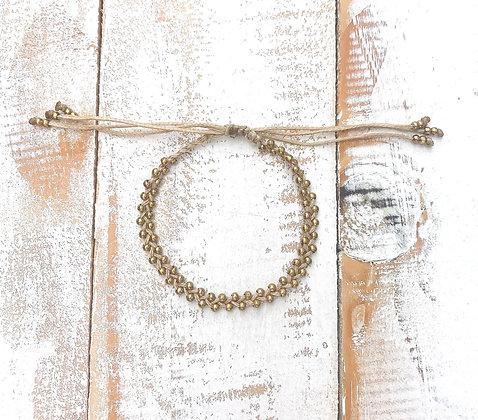 Tili beige Macrame bracelet