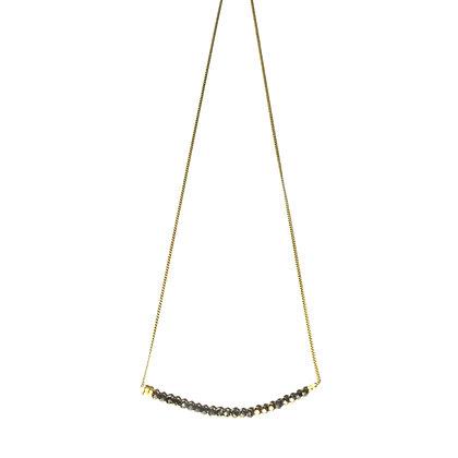 Shakti Necklace ; Pyrite
