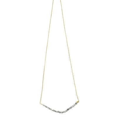 Shakti Necklace ; Labradorite