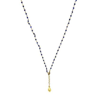 Mani Necklace ; Lapis Lazuli