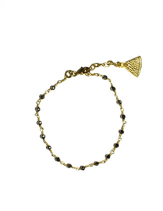 Mani Bracelet ; Pyrite