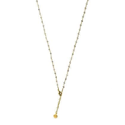 Mani Necklace ; Labradorite