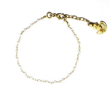 Mani Bracelet ; Moonstone
