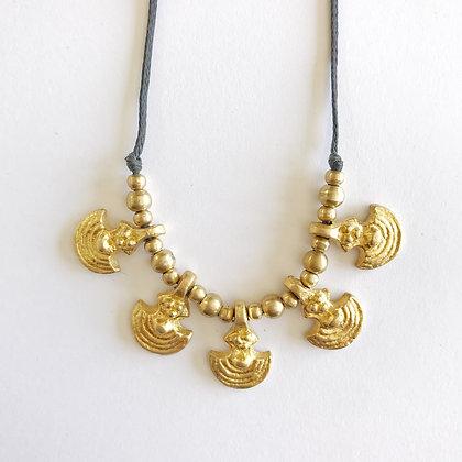 Arca Black Necklace