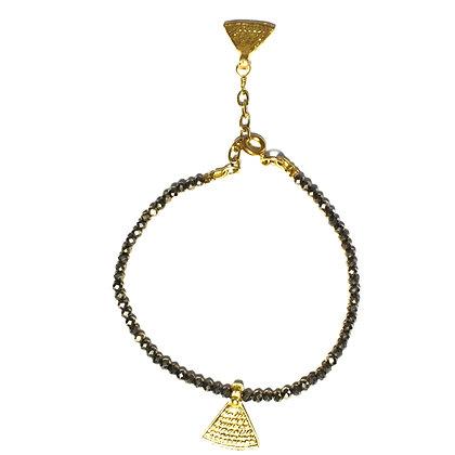 Bundi Bracelet ; Pyrite