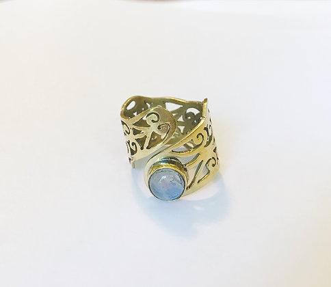 Carmel Ring - Moon Stone