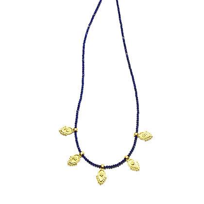 Bundi Necklace ; Lapis Lazuli