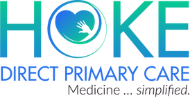 Hoke direct primary care logo