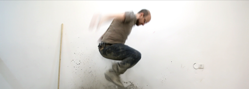 Avner Pinchover, Place (after Micha Ullman), 2018. Still from single-channel HD video