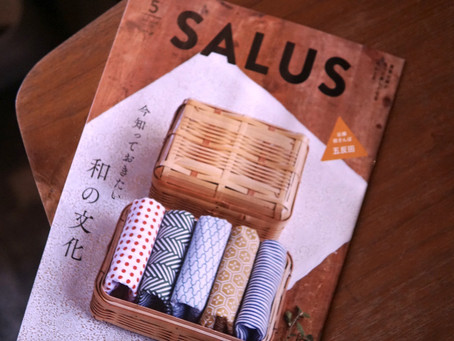 「SALUS」さんに当店のシュークリームをご紹介いただきました。