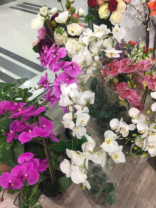 Silk Orchid Flower - High Quality