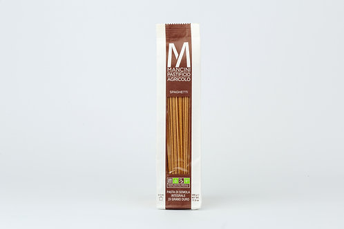 Mancini,Spaghetti Whole Wheat Bio 500g