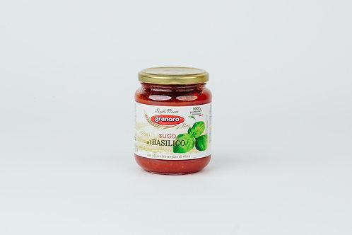 Granoro,Tomato Sauce W/Basil 370gr