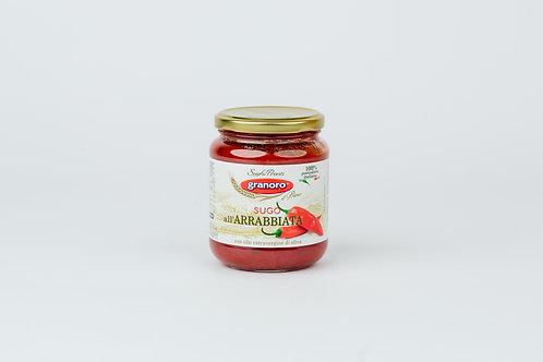 Granoro,Spicy Tomato Sauce Arrabbiata 370gr