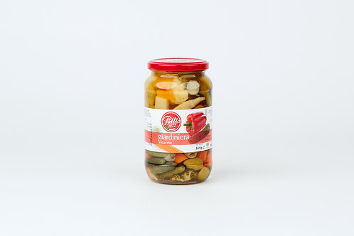 Polli,Mixed Vegetables In Wine Vinegar 565g