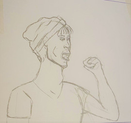 sketch-man doughnut