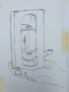 Sketch VHS tape