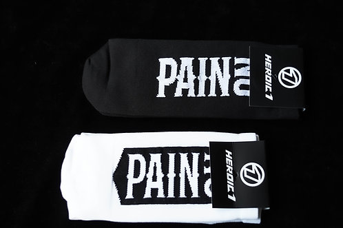HEROIC1 No Pain No Gain Socks