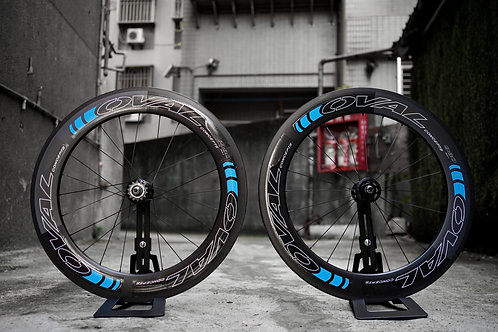 Oval Concept 980 Tubular Carbon Wheelset - Special Color