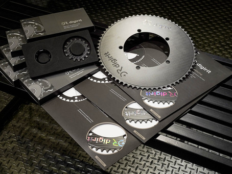 """A leap forward for carbon chainring. """"Digirit"""" did change."""