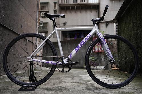 Skream Ranger Grey Purple x Faith Complete Bike