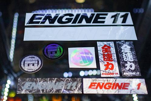 2021 E11 Sticker Pack