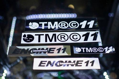 E11 x G&F Sticker Pack