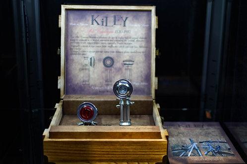 Kiley Vintage Light Set with Wooden Case