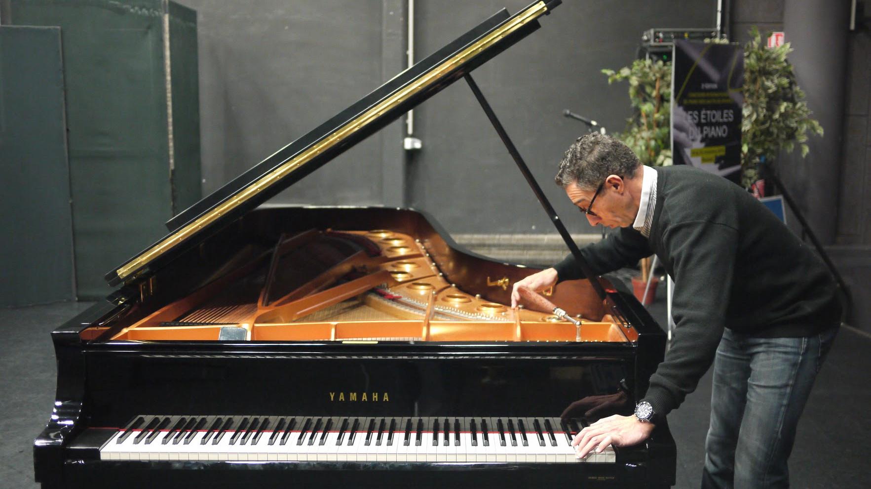 Franck Hammond Accordage du piano Grand Concert Yamaha CFX