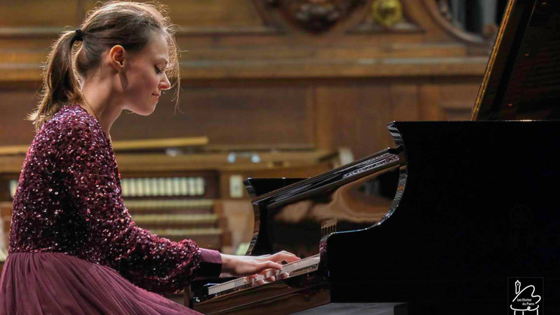 Nadezda Pisareva (Russie) 6ème prix des Etoiles du piano en 2019, en audition
