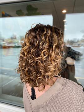 Curly Hair Cut - Buffalo, NY