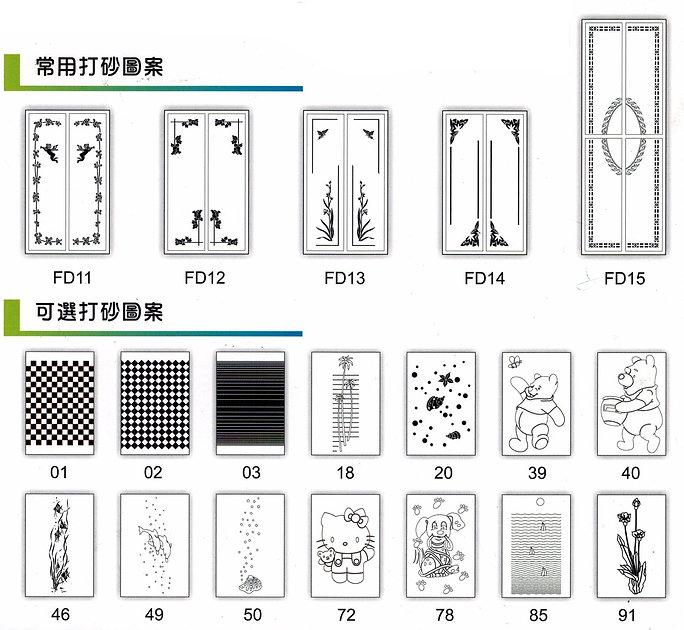 folding door,巴士摺門,圖案
