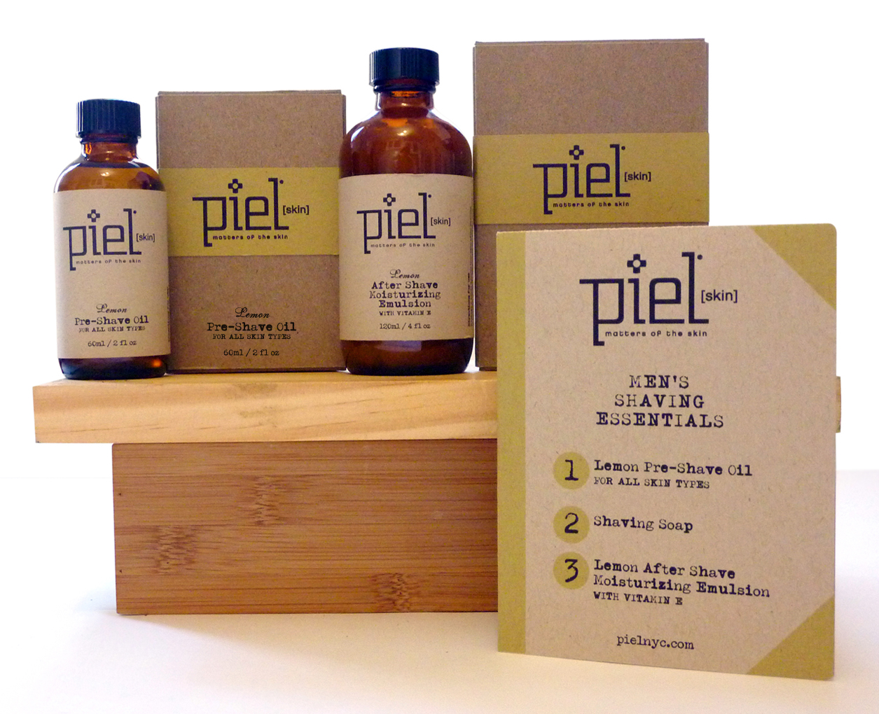 PIEL MEN'S SHAVING ESSENTIALS