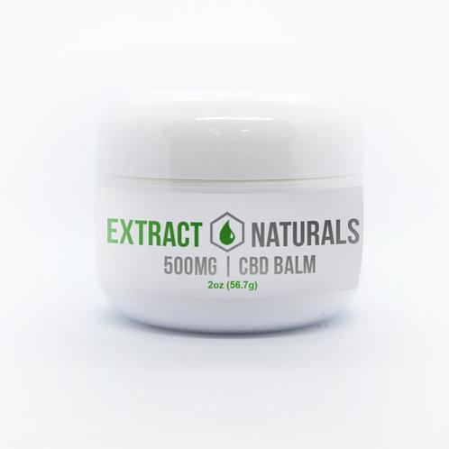 NO-THC Extra Strength 2 oz CBD Balm | 500 mg |NO-THC