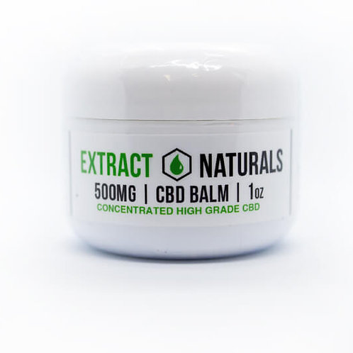 Extra Strength CBD Balm | 500 mg | W/THC 0.3%