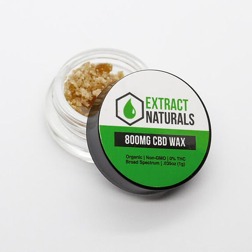 CBD Wax | 800 mg