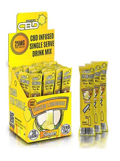 CBD Lemon-Aid Drink Mix 25mg (30 count per box)
