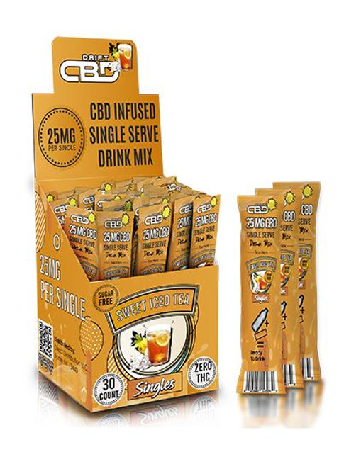 CBD Tea Drink Mix 25mg (30 count per box)