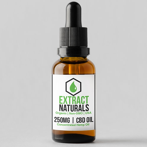250 mg CBD Oil | 0% THC | Full Spectrum